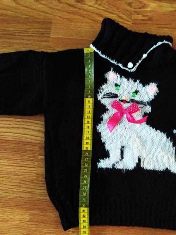 Вязанные свитера на девочку - Фото 3