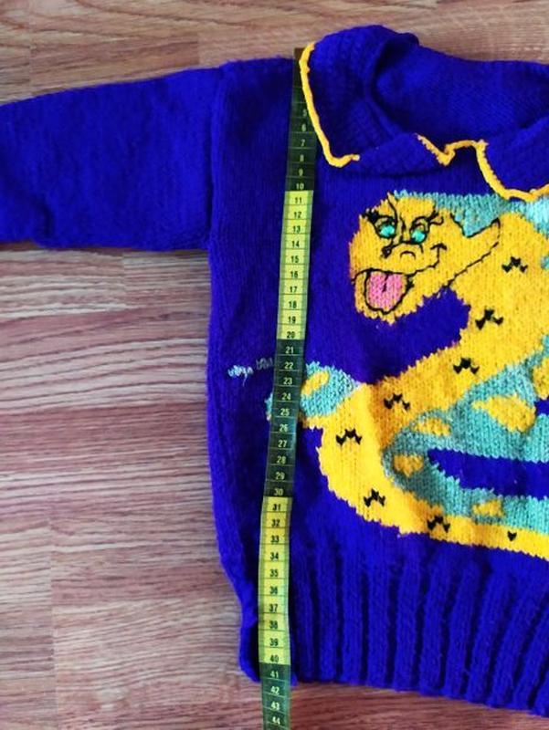 Вязанные свитера на девочку - Фото 5