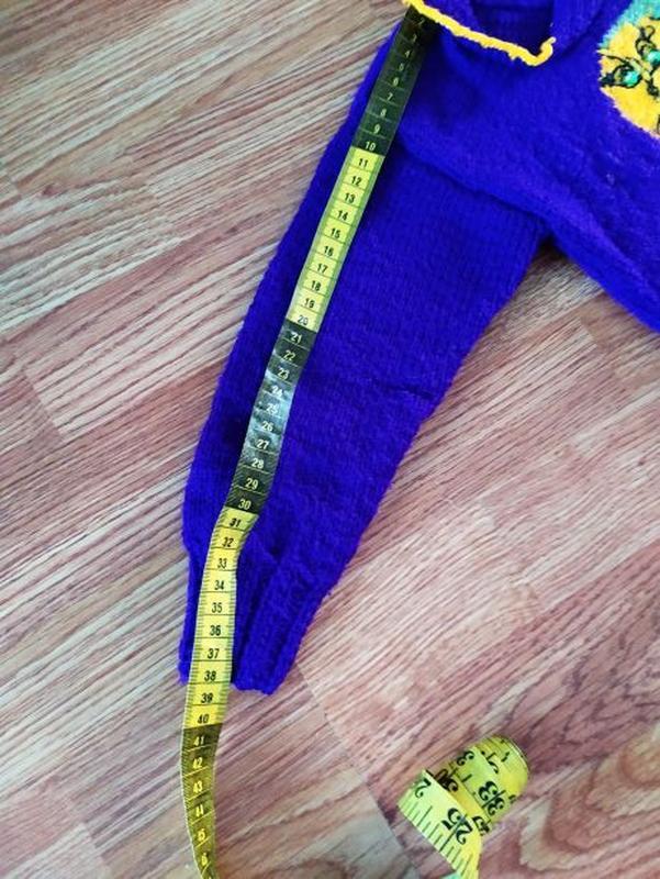 Вязанные свитера на девочку - Фото 6