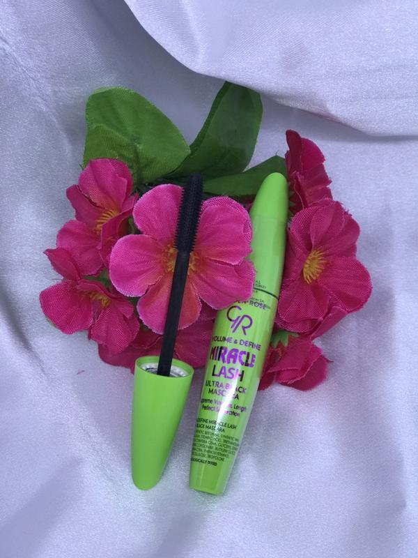 Тушь для ресниц golden rose miracle lash ulrta black mascara - Фото 3