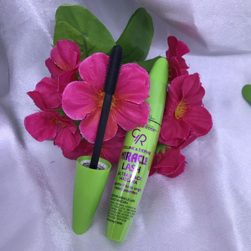 Тушь для ресниц golden rose miracle lash ulrta black mascara - Фото 5