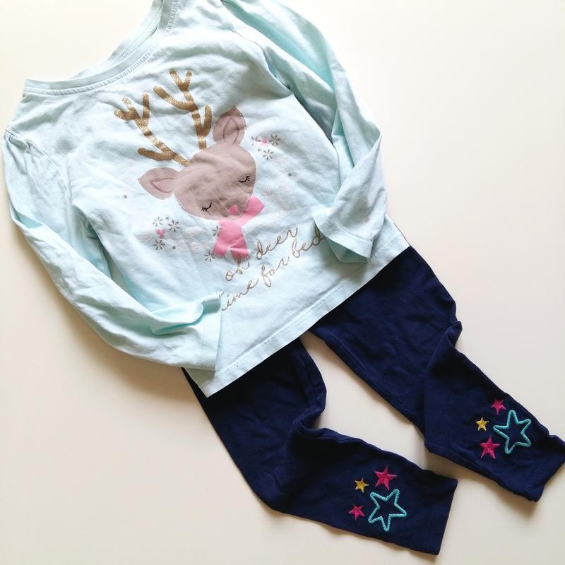 Одежда на девочку 2-3года года 92-98см комплект набор лосины ш... - Фото 2