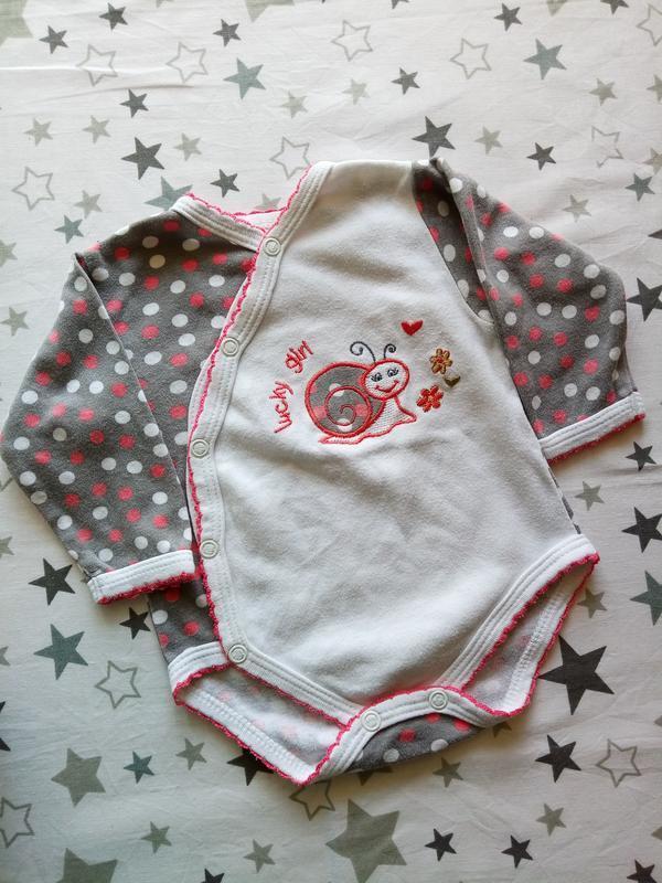 Набор на малыша с улиточкой 1-3 месяца - Фото 3