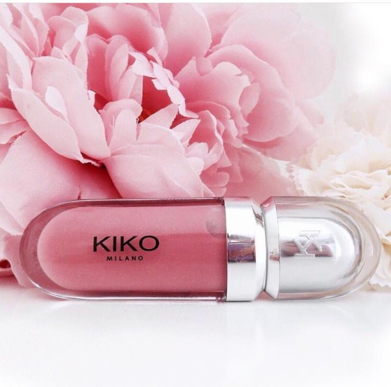 3d hydra lipgloss kiko milano смягчающий блеск для губ с трехм... - Фото 2