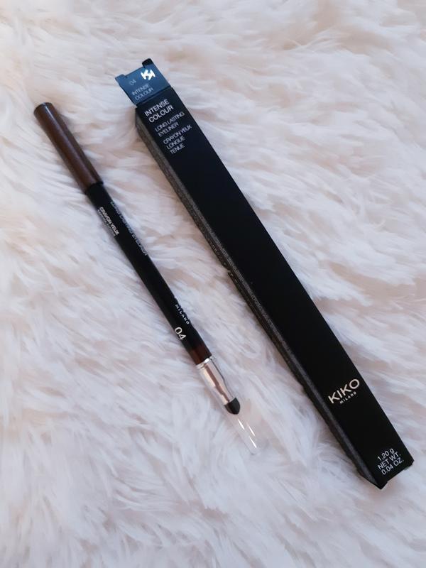 Kaрандаш для глаз intense colour long lasting eyeliner kiko mi... - Фото 3