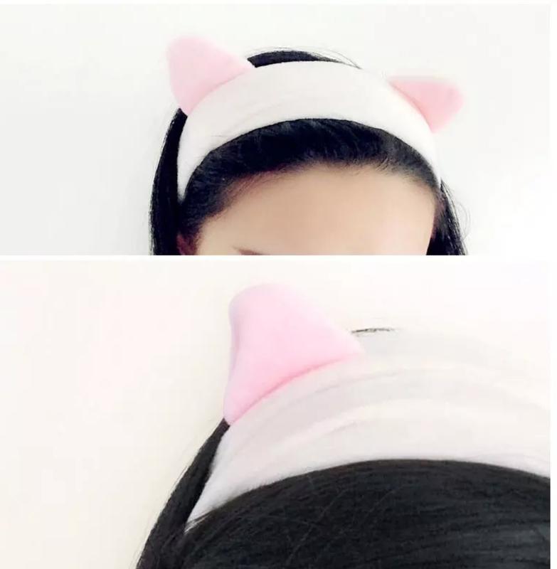Повязка ушки корейская косметика