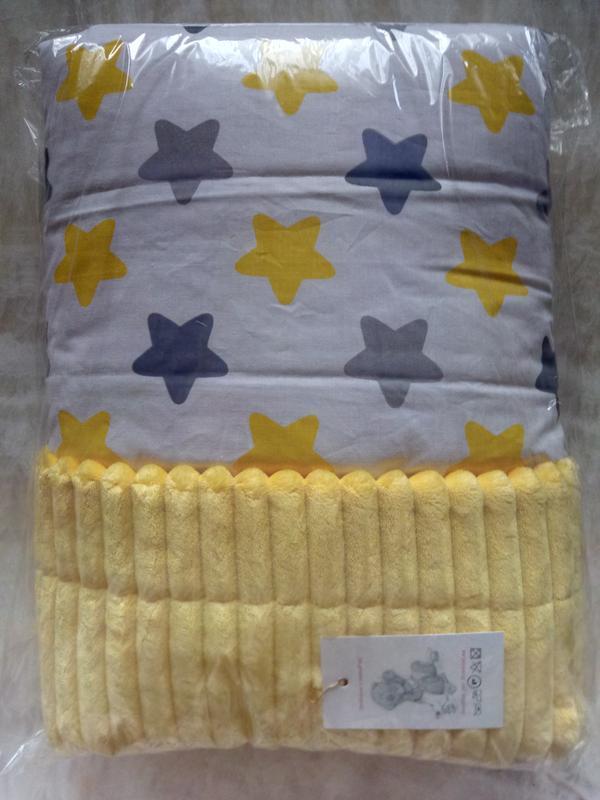 Детский двухсторонний плед-одеялко, есть расцветки разные