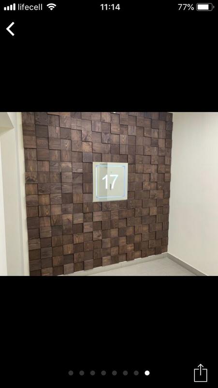 3D панели из дерева, плитка из дерева