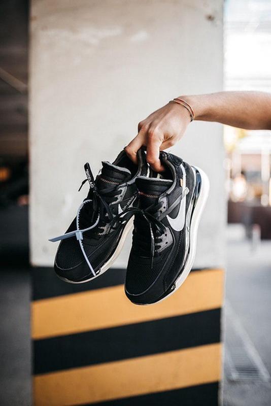 Крутые мужские демисезонные кроссовки найк nike off-white new ... - Фото 8