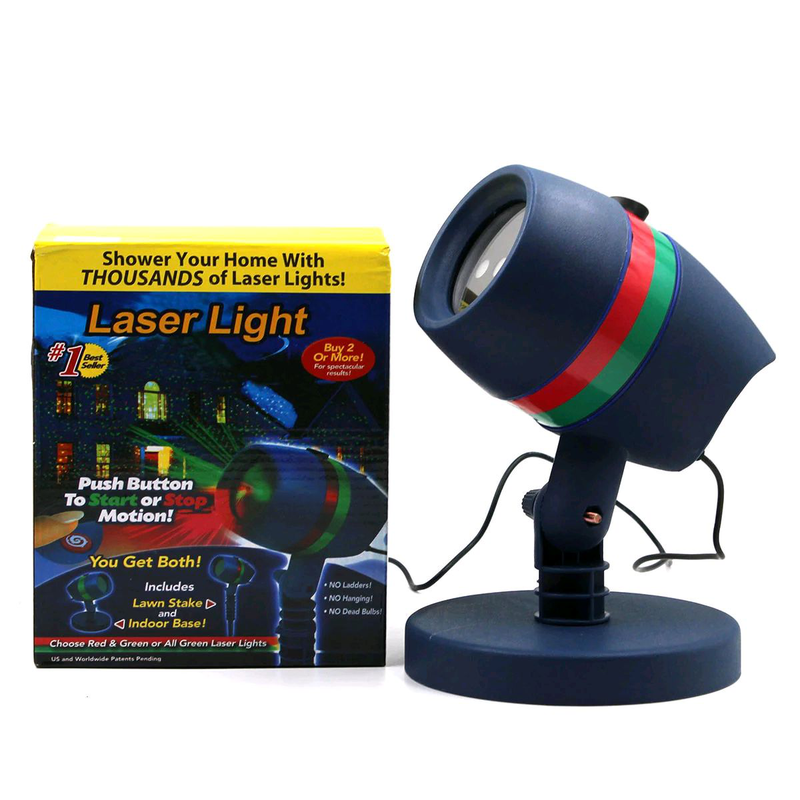 Лазерный проэктор Star shower Laser Light