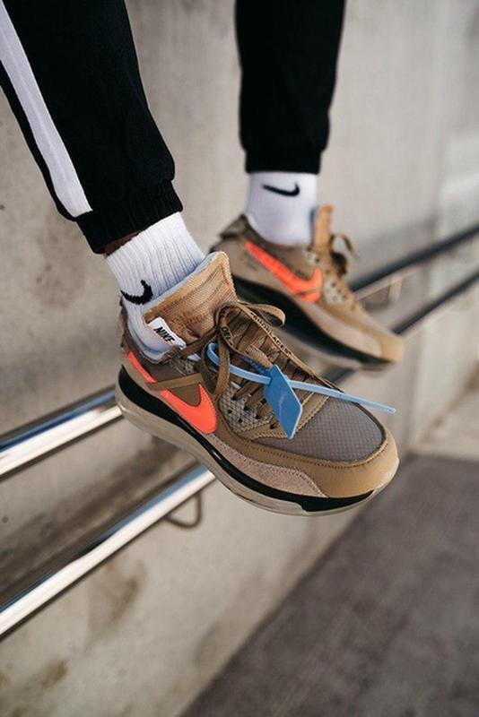 Крутые мужские демисезонные кроссовки найк nike off-white new ... - Фото 3