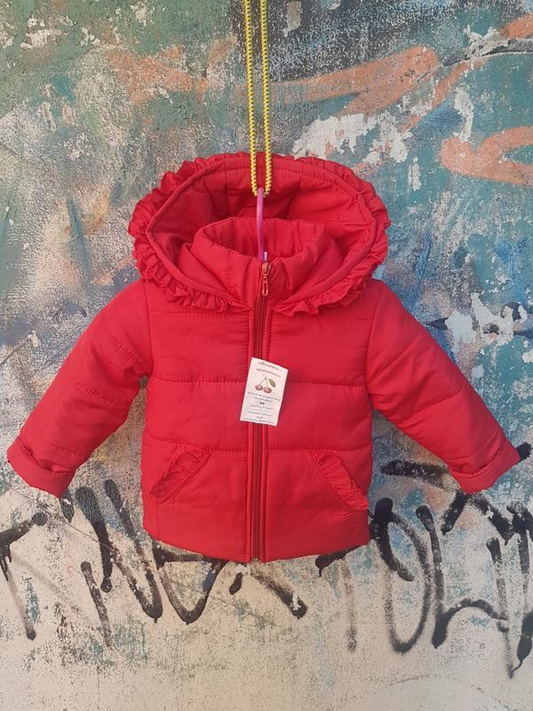 Демисезонная курточка на девочку - Фото 3
