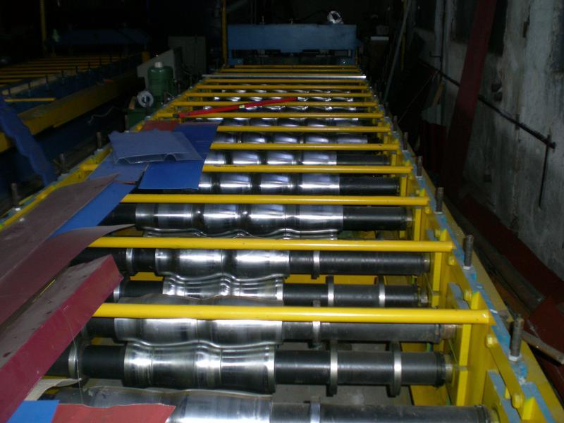 Линия для производства металлочерепицы