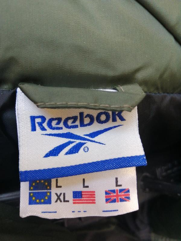 Пуховик куртка reebok - Фото 5