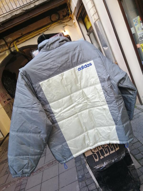 Куртка пуховик adidas original - Фото 2