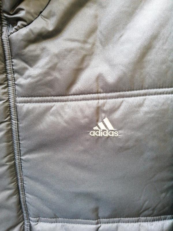 Куртка пуховик adidas original - Фото 3