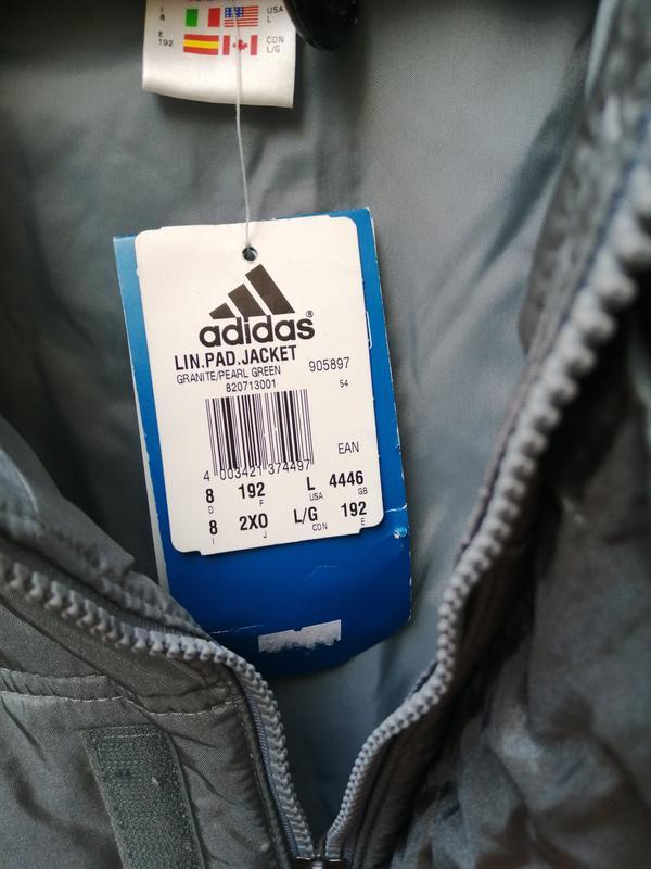 Куртка пуховик adidas original - Фото 4