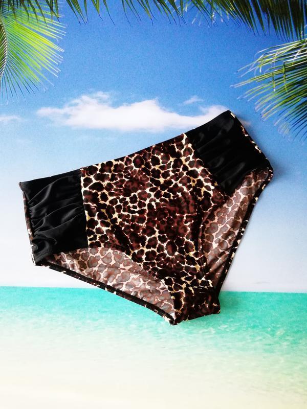 Леопардовые плавки