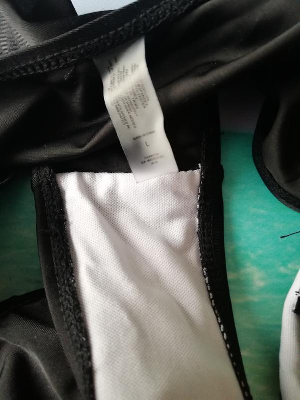 Купальник черный монокини сексуальный - Фото 2