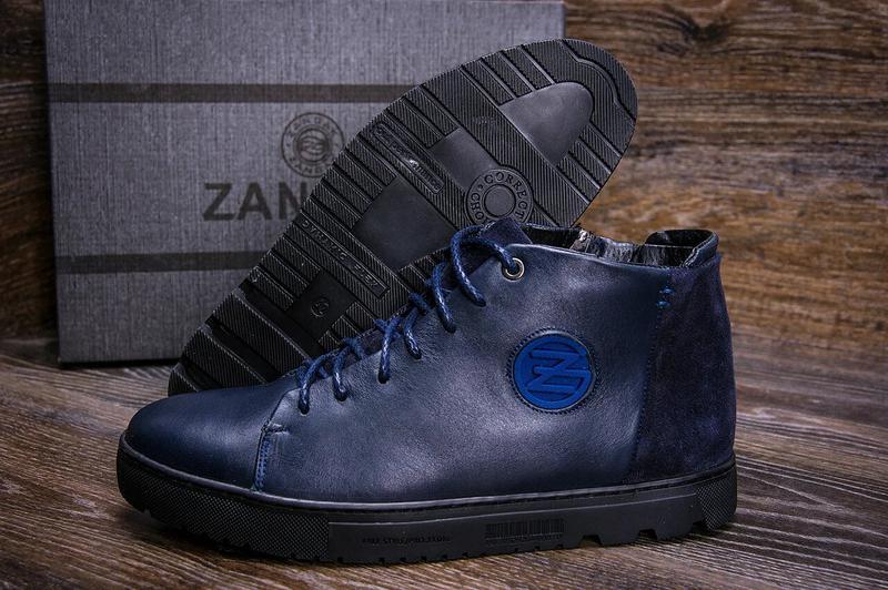 Зимние Кожаные Ботинки На Натуральном Меху Zangak - Фото 2