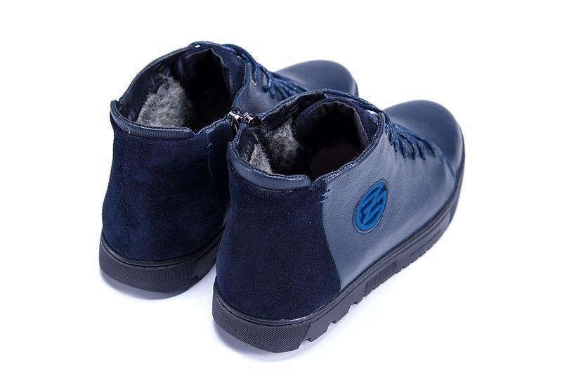 Зимние Кожаные Ботинки На Натуральном Меху Zangak - Фото 6