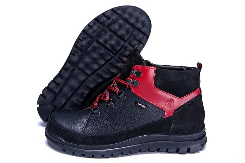 Зимние Кожаные Ботинки На Натуральном Меху Zangak - Фото 9