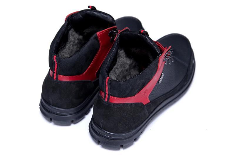 Зимние Кожаные Ботинки На Натуральном Меху Zangak - Фото 10
