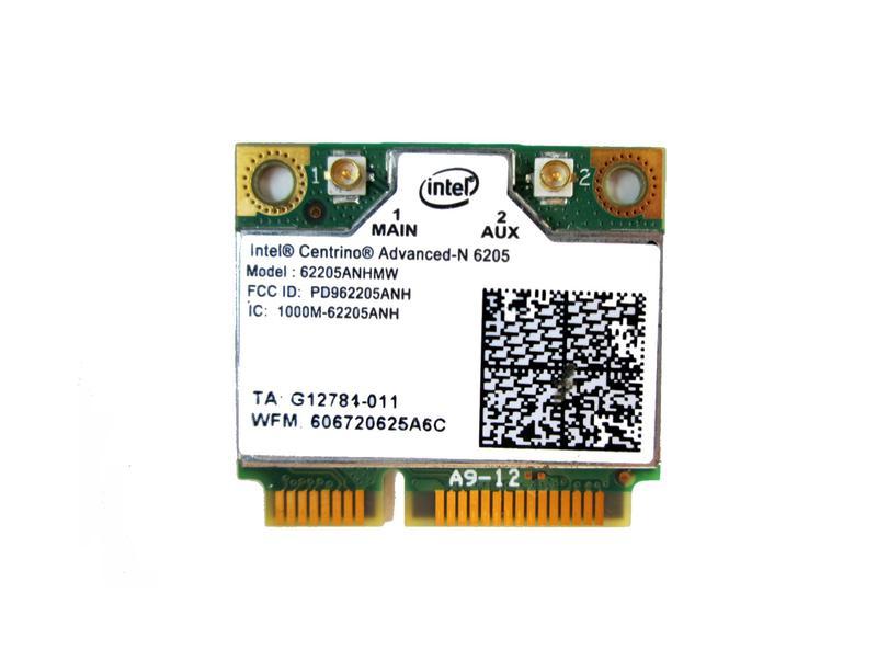 Wi-Fi 5ГГц Intel 62205ANHMW N6205 модуль Half mini PCI-E 2,4/5ГГц