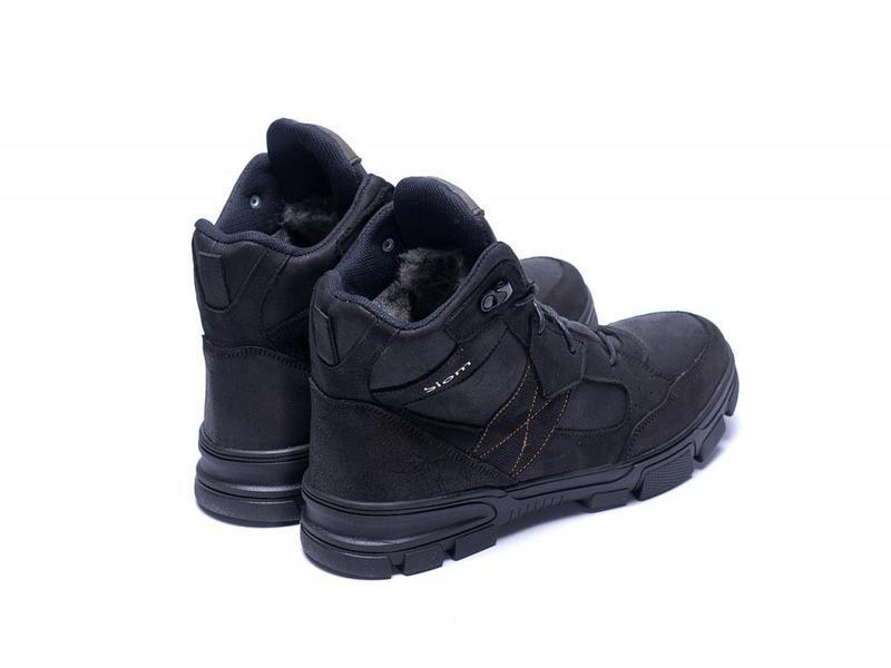 Зимние Кожаные Ботинки На Натуральном Меху Ecco - Фото 7
