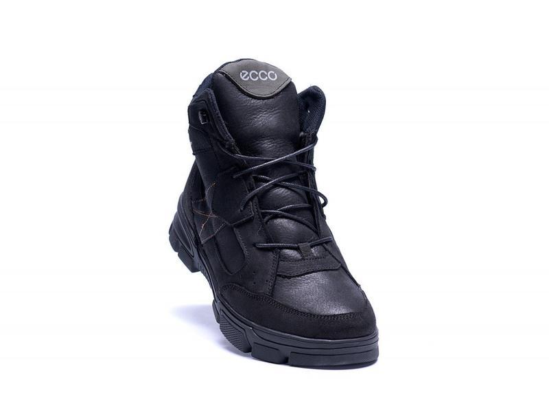 Зимние Кожаные Ботинки На Натуральном Меху Ecco - Фото 6