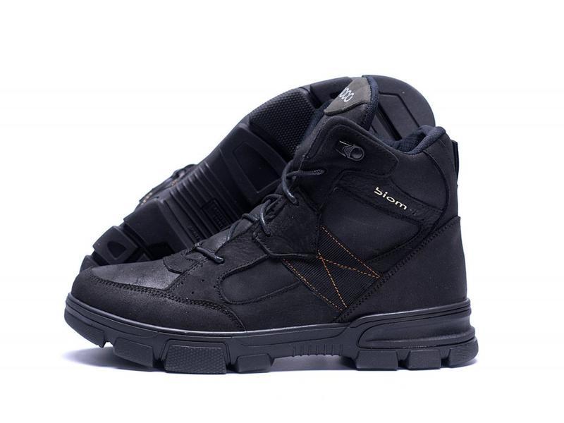 Зимние Кожаные Ботинки На Натуральном Меху Ecco - Фото 8