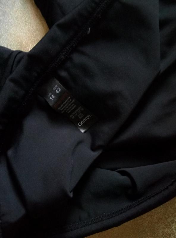 Черные плавки с подворотом - Фото 3