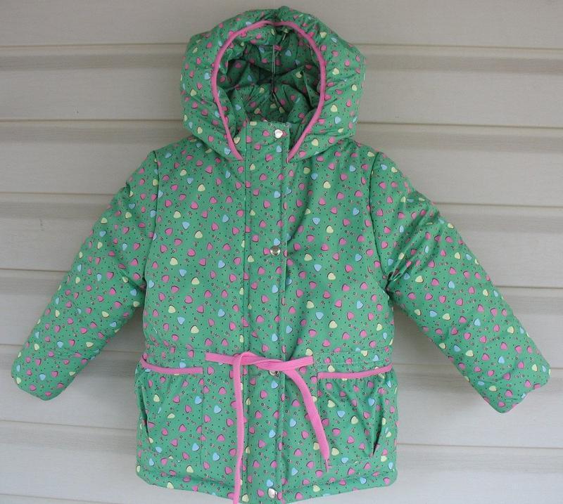 Зимняя куртка-парка для девочки