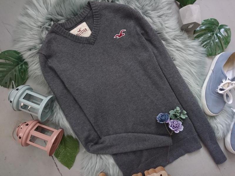 Базовый мужской пуловер №39max - Фото 2