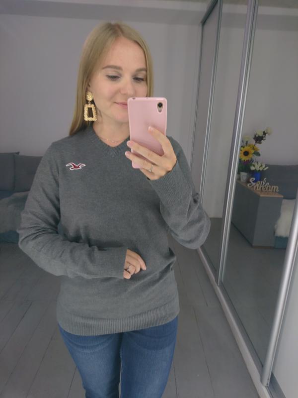 Базовый мужской пуловер №39max - Фото 4