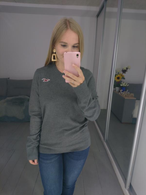 Базовый мужской пуловер №39max - Фото 5