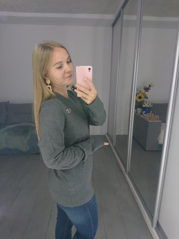 Базовый мужской пуловер №39max - Фото 6