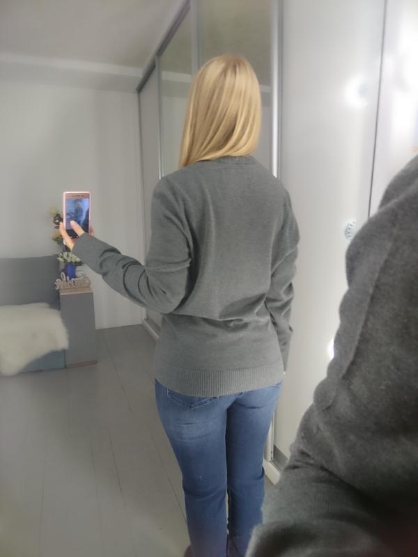 Базовый мужской пуловер №39max - Фото 7
