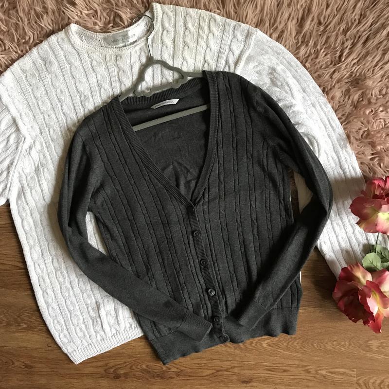 Серый джемпер для школы(10-11лет)