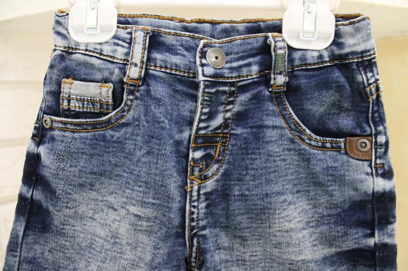 Джинсовые шорты 12-18 мес - Фото 7