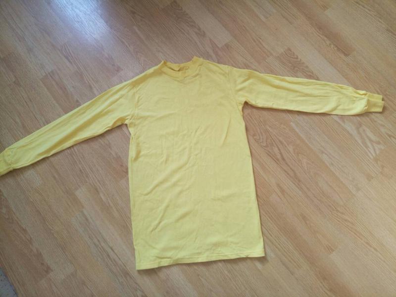 Однотонный желтый реглан,кофта.унисекс