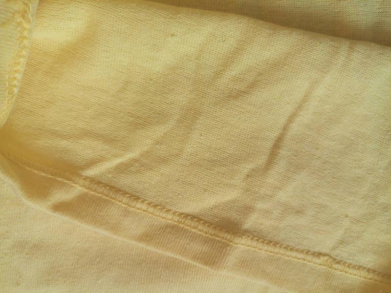 Однотонный желтый реглан,кофта.унисекс - Фото 5