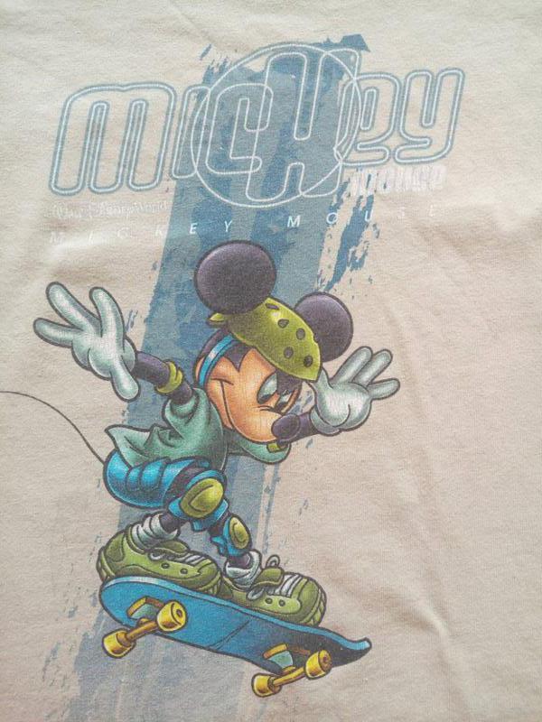 Футболка mickey mouse на скейте - Фото 3