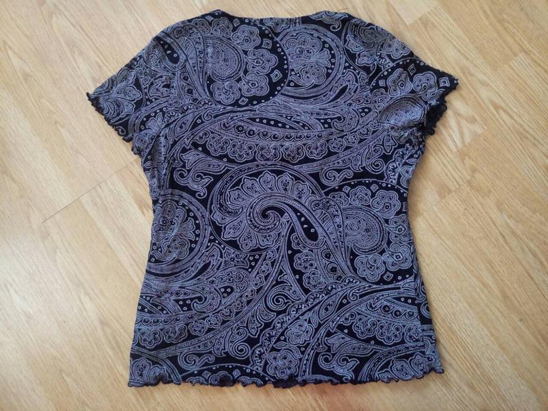 Летняя блуза-футболка - Фото 2