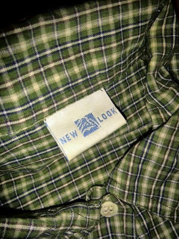 Летняя рубашка в клетку - Фото 3