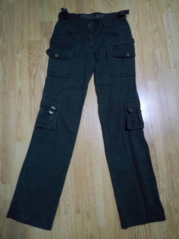Брюки,джинсы хаки