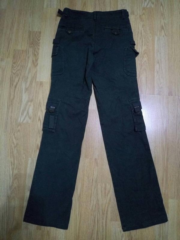 Брюки,джинсы хаки - Фото 2