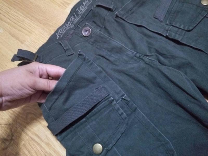 Брюки,джинсы хаки - Фото 4