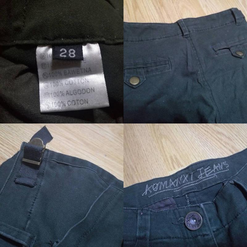 Брюки,джинсы хаки - Фото 5