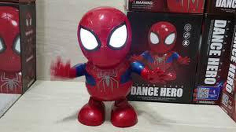 Интерактивная игрушка танцующий супер герой робот трансформер